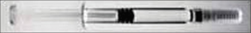 Figure 7: BD Hypak PhysiolisTM glass prefilled syringe (reproduced with permission from BD)